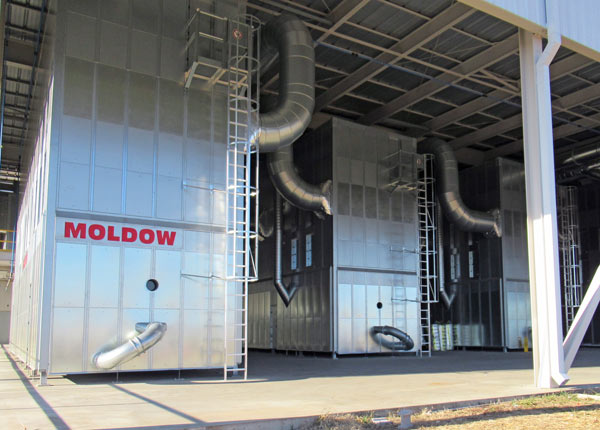 Moldow – Dust Extraction & Painting Lines – Leading International